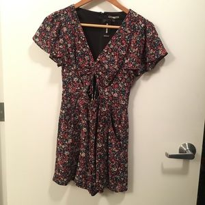 Romper with cutout